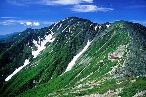 Mount aino fom mount kita 2001 7 2