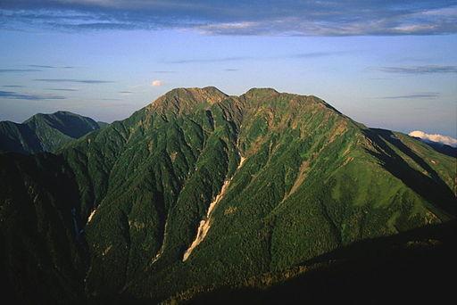 Akaishidake from senmaidake 07 1994 7 31