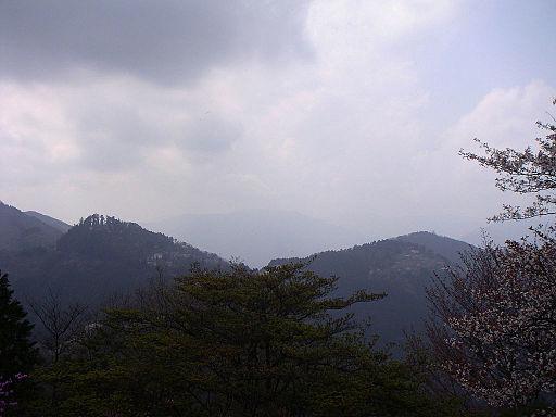 Mt. mitake and mt. otsuka