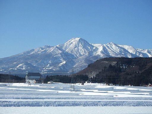 Mt myoko from northeast