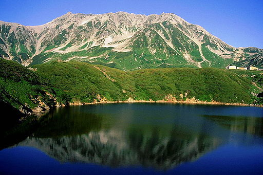 20 tateyama from mikurigaike 1998 7 17