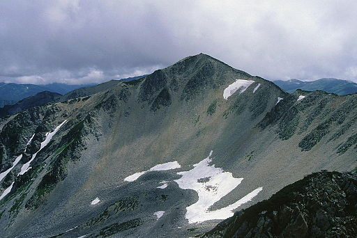 Mount yakushi from mount north yakushi 1997 08 11