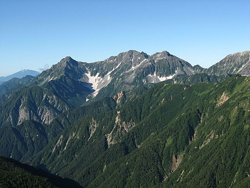 Mt.hotaka from mt.otenshodake 01