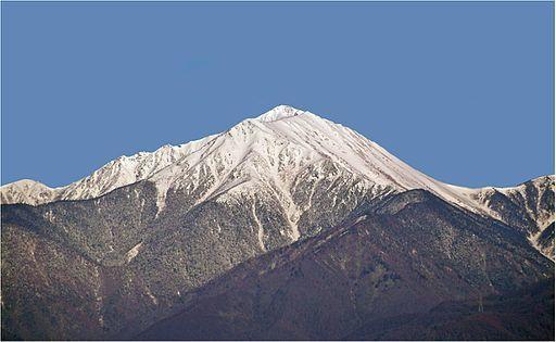 Mt jounen in azumino hotaka