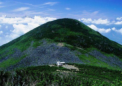 Mount amigasa from mount gongen 1994 5 14