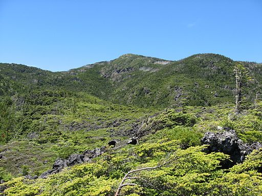 Mt.kitayokodake from tsuboniwa