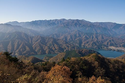Tanzawa mountains from mt.bukka 01