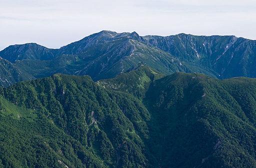 Mt.kisokomagatake from mt.utsugidake 01