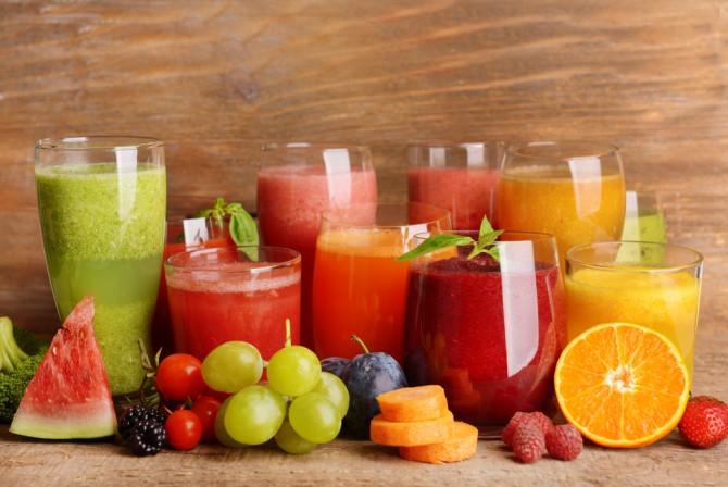 フルーツジュース各種