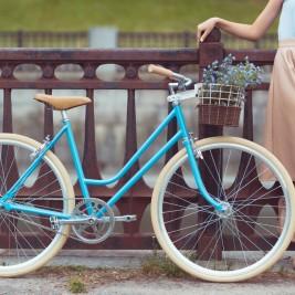 女性 自転車