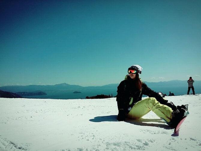 スノーボードで冬のダイエットを成功させて