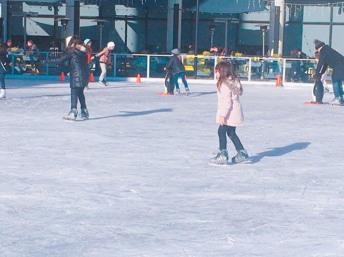 アイススケートでダイエットのモチベーションをあげて