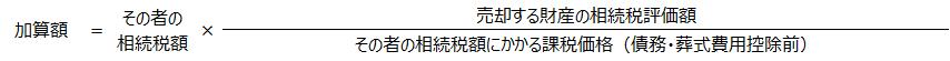【相続税の取得費加算の特例】