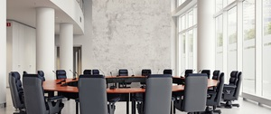 modern meeting room design concept. 3d rendering