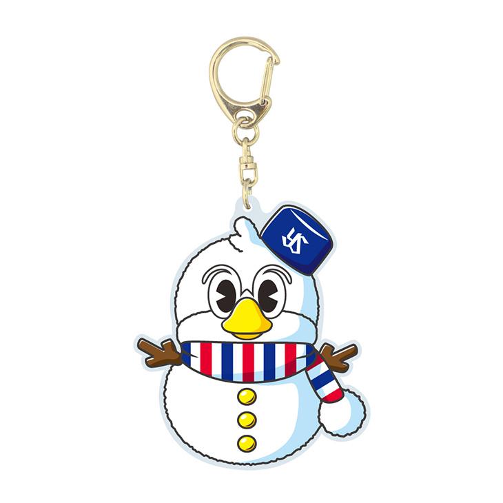 つば九郎雪だるまキーホルダー