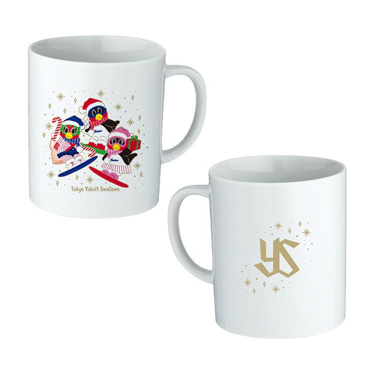 クリスマスマグカップ(スノボVer)