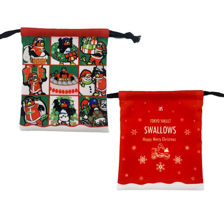 クリスマス巾着(つばサンタVer)