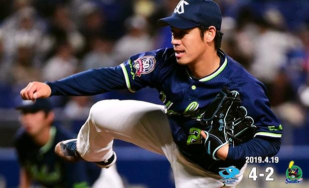 小川投手が今シーズン初勝利を目指すも、接戦をものにできず敗戦