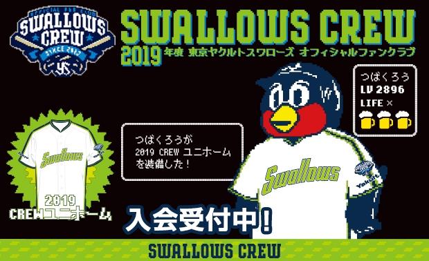 2019 Swallows CREW【スワローズクルー】情報解禁!!