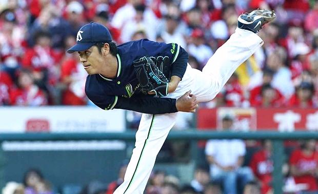 山田選手の試合を決定付ける19号満塁弾!先発・小川投手は8回無失点9奪三振の好投!チームは無失点リレーで完封勝利!