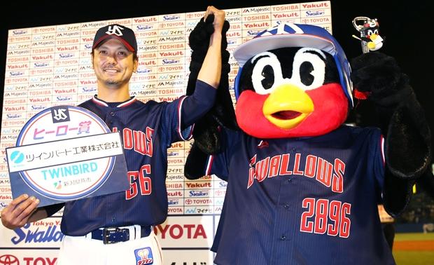 新垣投手の今季初登板初先発初勝利で連敗ストップ!