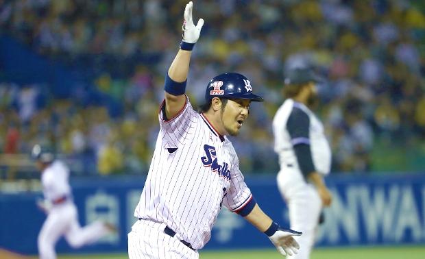 3度追いつかれるも畠山選手がサヨナラ打!2戦連続のサヨナラ勝利!!
