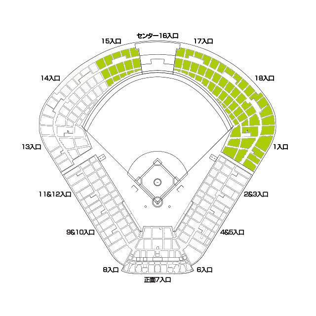 神宮球場図
