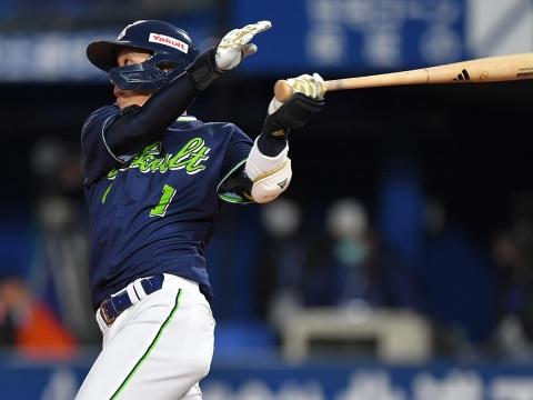 山田選手が5打点!優勝へのマジックは『5』に