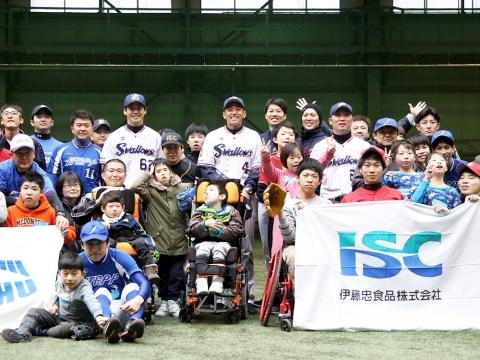 度会氏、河端氏、徳山氏が「第11回伊藤忠野球教室」に参加!