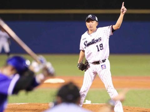 石川投手が8回1安打1失点の好投で今シーズン6勝目!