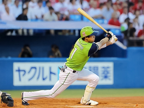 山田選手が一時同点タイムリー含むマルチ安打