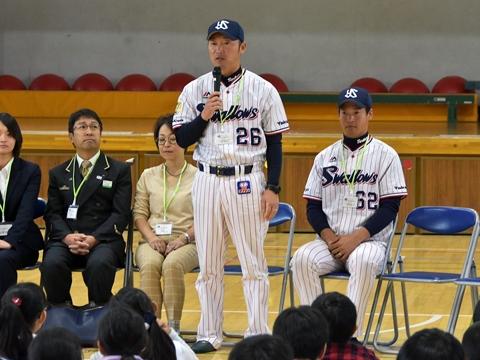 河端氏と徳山氏が杉並区立桃井第三小学校を訪問!