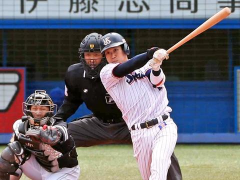 山田選手が2試合連続弾含む2安打4打点!