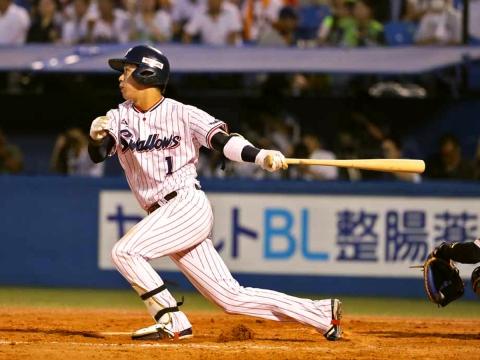山田選手が4安打の固め打ち