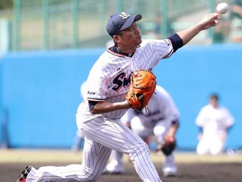 石川投手が2回無安打無失点!
