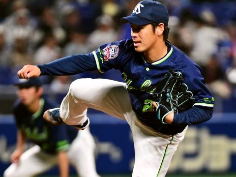 小川投手が今シーズン3度目の先発