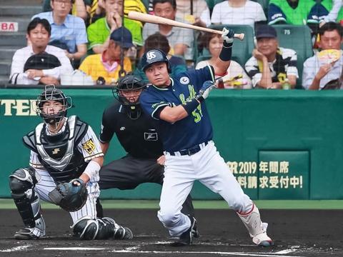 中村選手が同点タイムリー含むマルチ安打