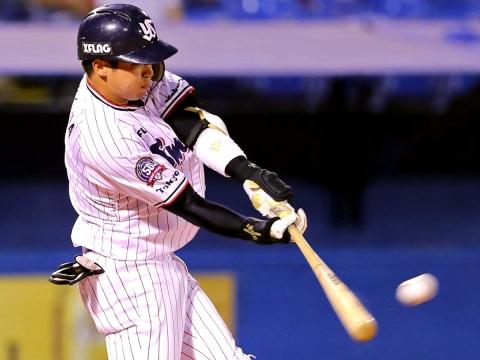山田選手が11試合ぶりの一発