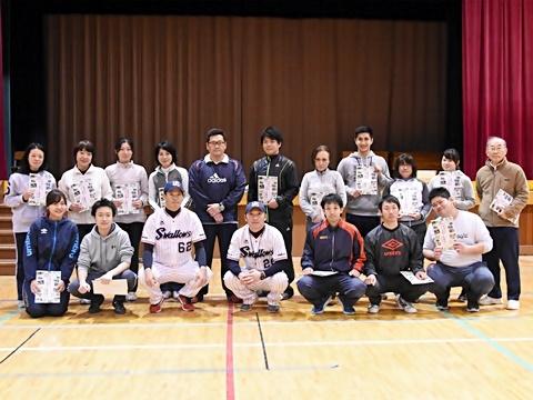 河端氏と徳山氏が高島第一小学校で教員向け「ベースボール型授業」を実施!