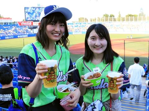 ミドら、ナイト!!&生ビール半額ナイター