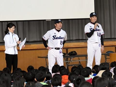 河端氏、徳山氏が練馬区立上石神井北小学校を訪問!