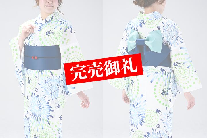 スワローズ浴衣2019(花火柄)