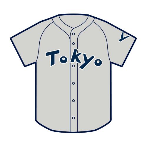山田選手 復刻ユニホームピンバッジ