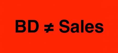 BD 就是 Sales 嗎?事業開發與業務的差異