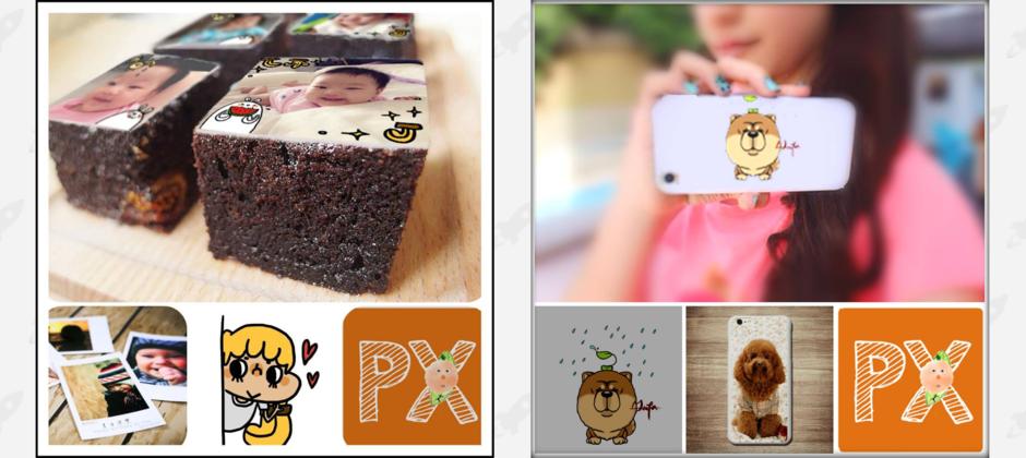 PrinXure 拍洗社客製化 手機殼與布朗尼