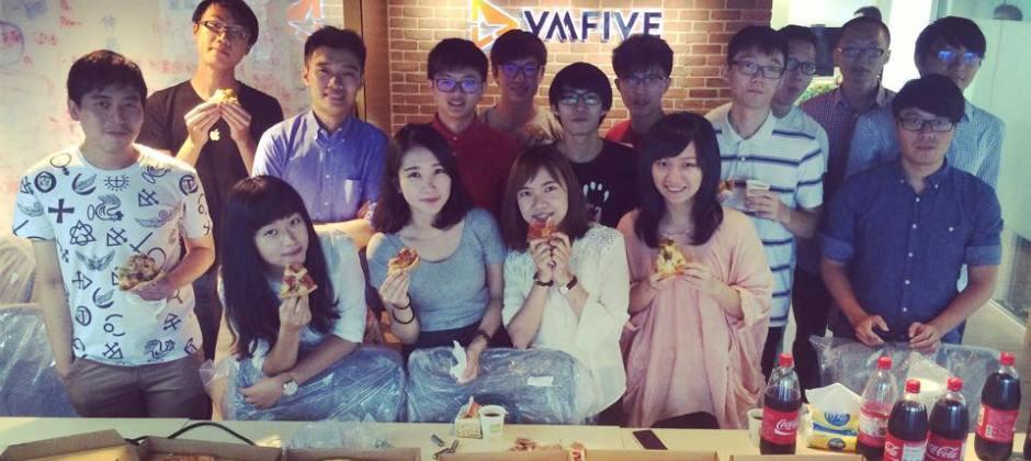 VMFive 第一屆暑期實習生報到囉!