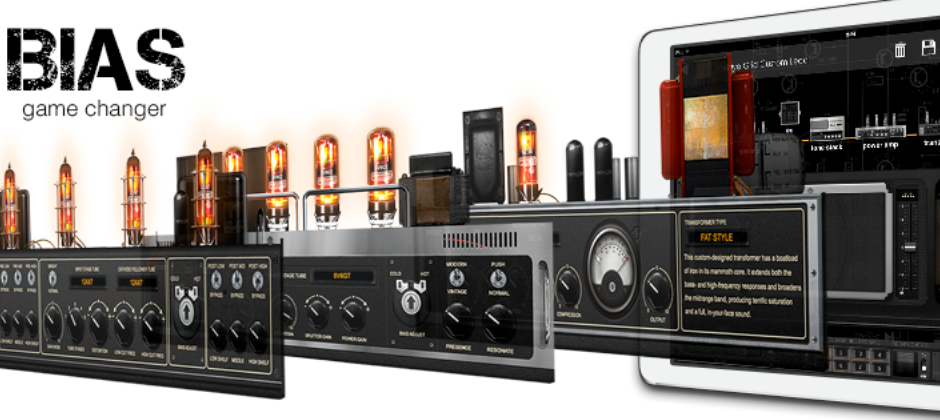 BIAS is an Amp Designer, Modeler and Processor for iPad