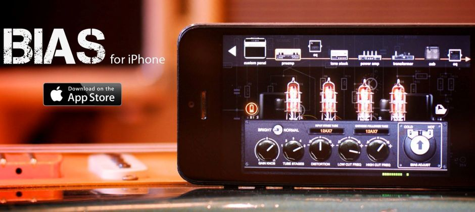 BIAS is now on iPhone. Experience guitar tone like never before