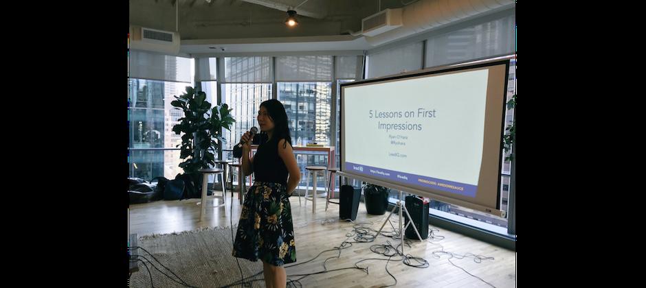 LeadIQ event - Cofounder talk