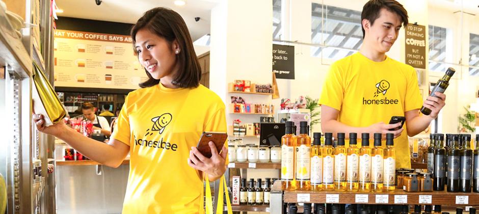 honestbee的願景是成為亞洲最大的生鮮電商